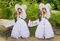 Tischkarten -Brautpaar-
